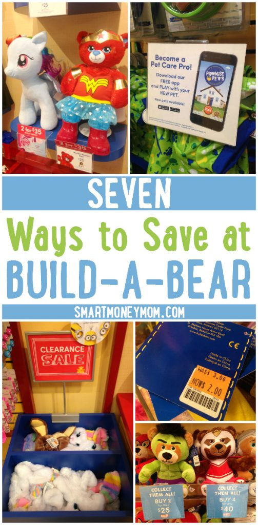 Seven Ways to Save at Build-A-Bear