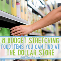 8 Budget Stretching Food Items You Can Find at the Dollar Store