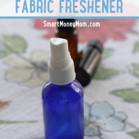 DIY Essential Oil Fabric Freshener