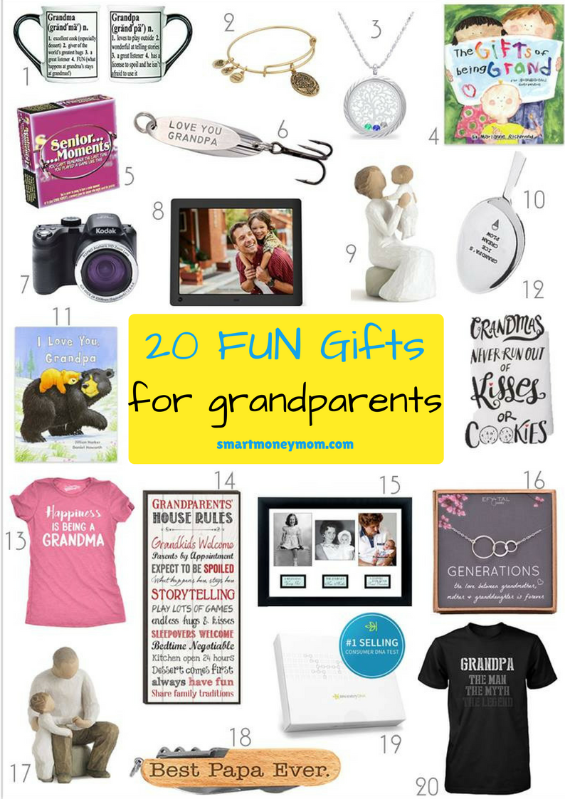 20 fun gifts for grandparents smart money mom