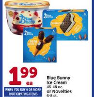 Stock UP on Blue Bunny Ice Cream!